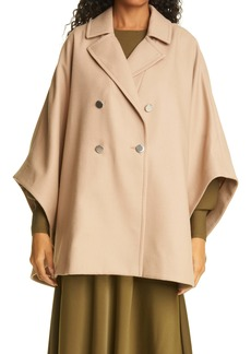Ted Baker London Donnata Double Breasted Wool & Cashmere Blend Cape
