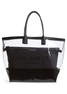 Ted Baker London Dorrys Clearn Canvas Pouch Shopper