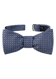 Ted Baker London Dot Print Silk Bow Tie