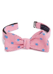 Ted Baker London Dot Silk Blend Bow Tie