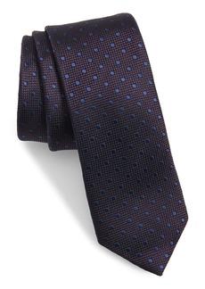 Ted Baker London Dot Skinny Silk Tie