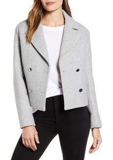 Ted Baker London Agneta Double Breasted Crop Jacket