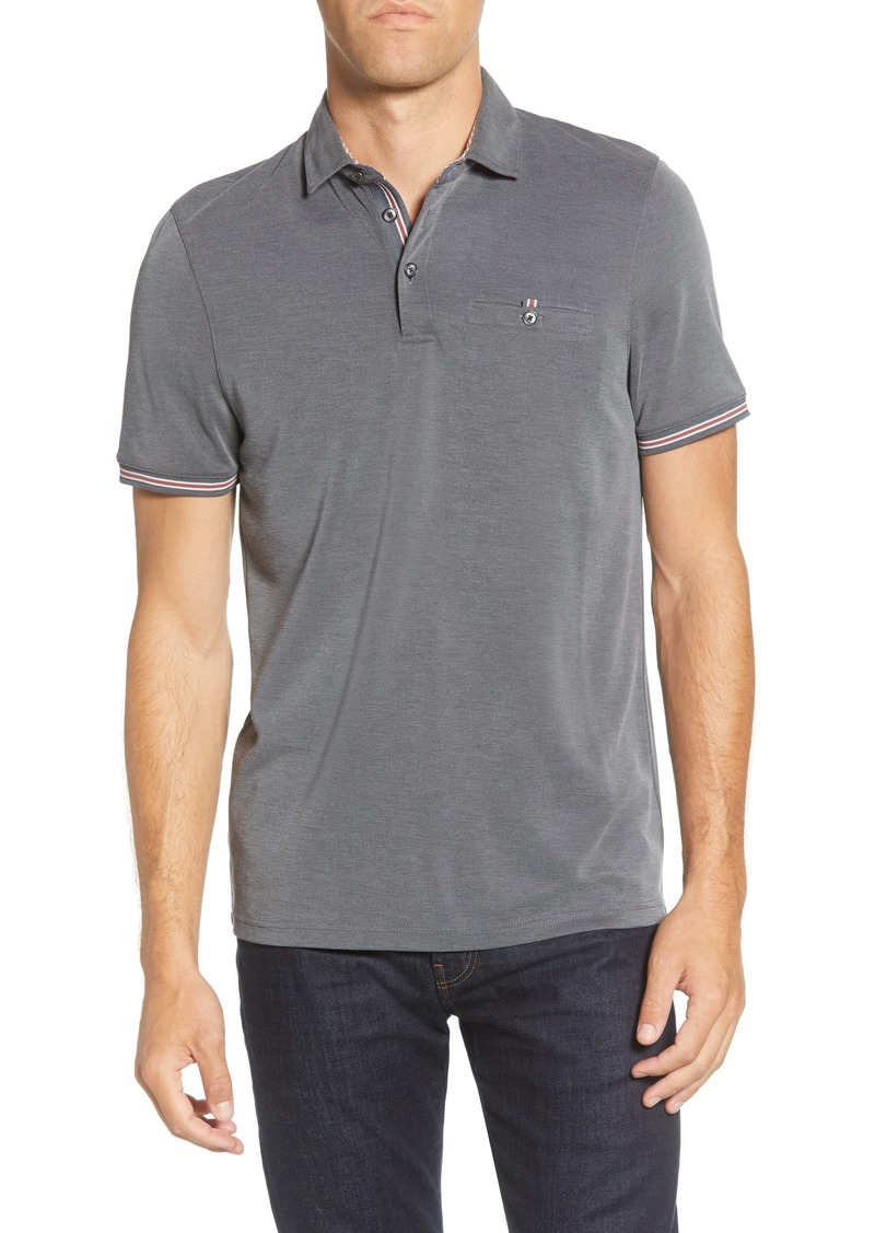 Ted Baker London Earbus Slim Fit Polo
