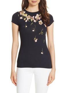 Ted Baker London Eddiah Arboretum Fitted Tee