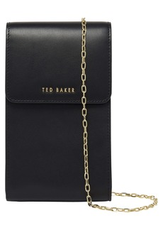 Ted Baker London Eesssma Leather Phone Crossbody Pouch