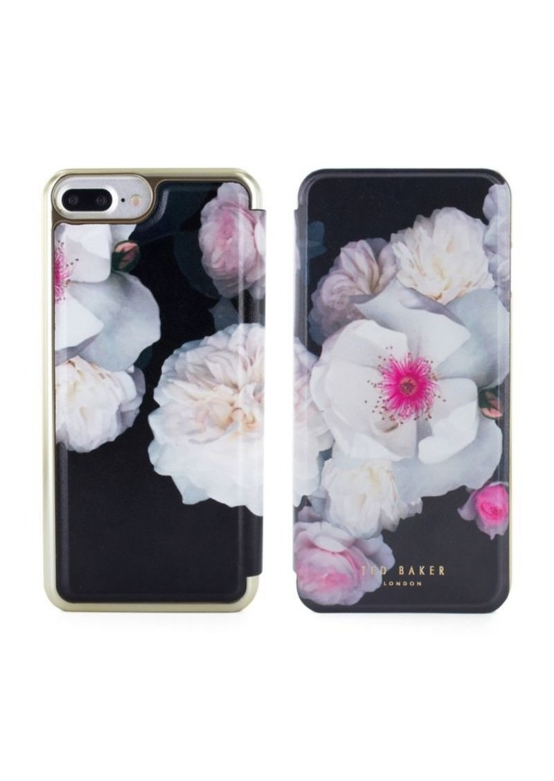 4a6728c489814 Ted Baker Ted Baker London Eleasse Mirror Folio iPhone 7 Plus and 8 ...