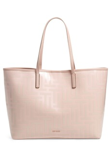 Ted Baker London Eleenor Logo Nylon Shopper Tote