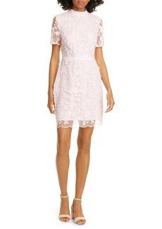Ted Baker London Elegant Lace Appliqué Dress