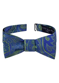 Ted Baker London Elegant Paisley Silk Bow Tie