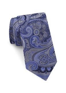Ted Baker London Elegant Paisley Silk Tie