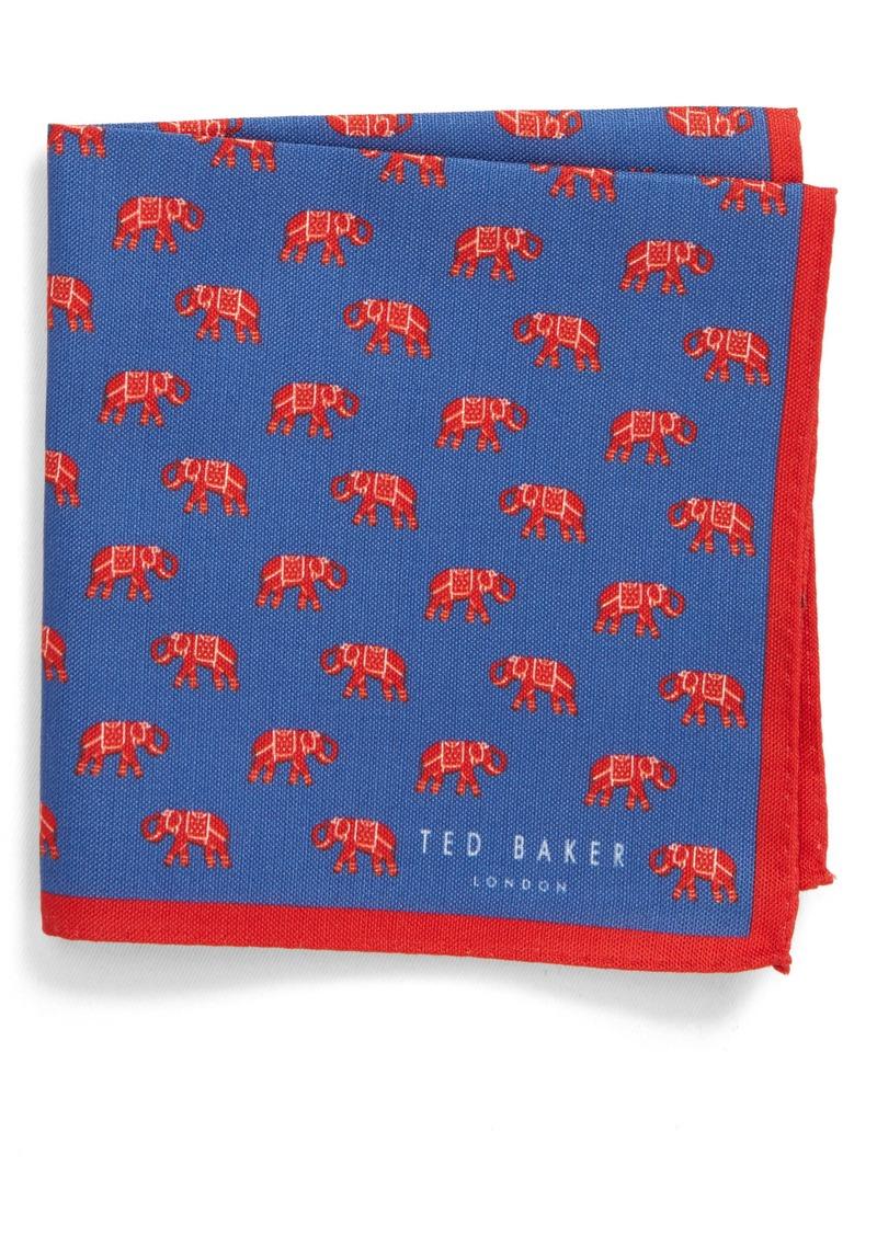 Ted Baker London Elephant Pocket Square