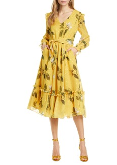 Ted Baker London Elissea Savanna Long Sleeve Dress