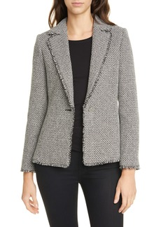 Ted Baker London Eloisia Bouclé Tweed Jacket