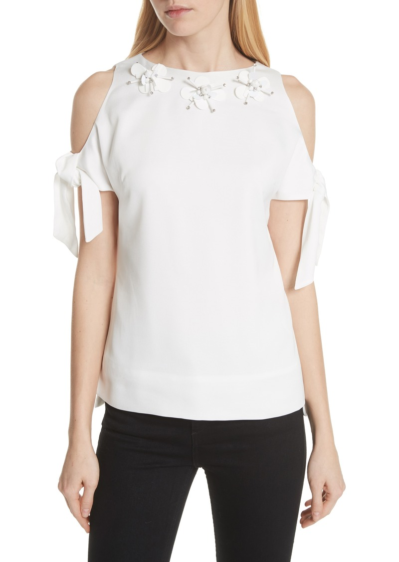 967c70821c908 On Sale today! Ted Baker Ted Baker London Embellished Neck Cold ...