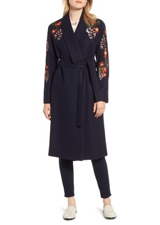 Ted Baker London Embroidered Coat