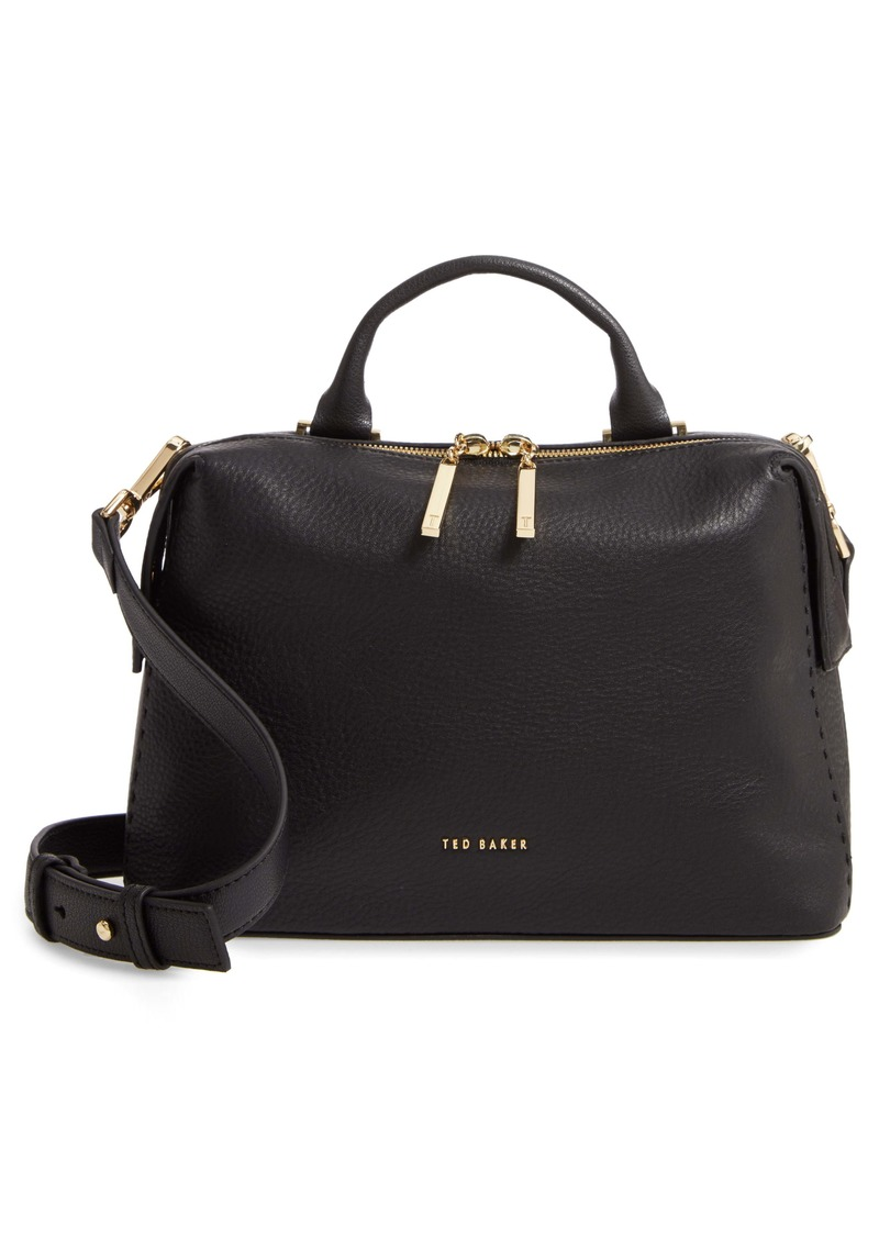 Ted Baker London Emilyy Leather Top Zip Tote