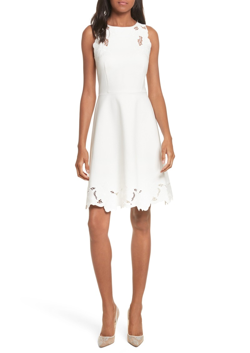 a7ad80234545eb Ted Baker Ted Baker London Emmona Embroidered Skater Dress
