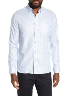 Ted Baker London Emuu Slim Fit Linen Shirt