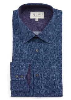 Ted Baker London Endurance Belugar Extra Slim Fit Dot Dress Shirt