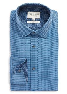 Ted Baker London Endurance Slim Fit Box Twill Dress Shirt