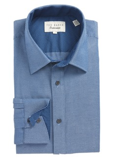 Ted Baker London Endurance Trim Fit Dobby Dress Shirt
