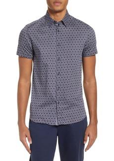 Ted Baker London Enyone Slim Fit Print Sport Shirt