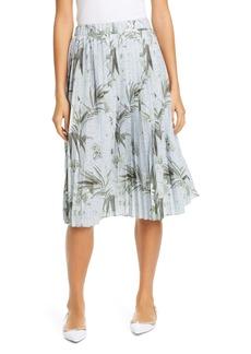 Ted Baker London Estie Highland Pleated Jersey Skirt