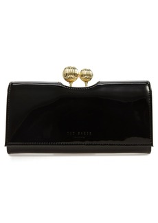 Ted Baker London 'Etched Bobble - Kimmiko' Patent Leather Matinee Wallet
