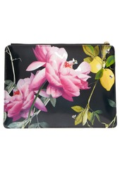 Ted Baker London Eveley Citrus Bloom Double Pouch