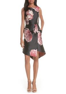 Ted Baker London Eyvii Bay of Honour Asymmetrical Dress