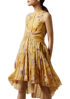 Ted Baker London Fabulas Cabana Pleated Dress