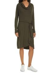 Ted Baker London Faustaa Long Sleeve Jersey Dress