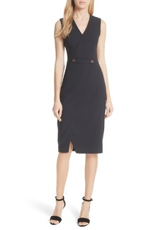 Ted Baker London Ted Working Title Faux Wrap Dress
