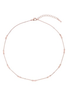 Ted Baker London Faye Mini Faceted Bow Station Choker Necklace