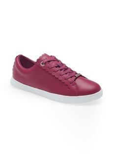 Ted Baker London Feeki Leather Lace-Up Sneaker (Women)