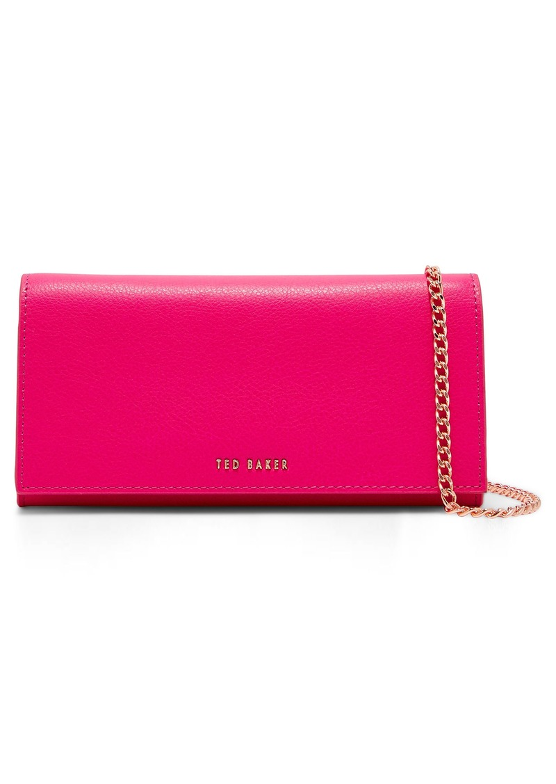 47b833a68 Ted Baker Ted Baker London Fiola Leather Crossbody Matinée Wallet on ...