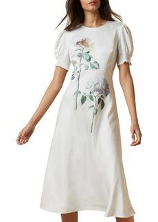 Ted Baker London Fleur Bouquet A-Line Dress
