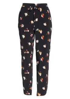 Ted Baker London Flisie Colour by Numbers Floral Print Jogger Pants