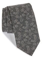 Ted Baker London Floral Cotton Tie