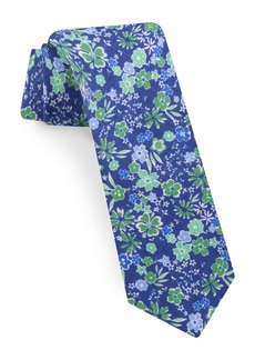 Ted Baker London Floral Linen Tie