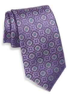 Ted Baker London Floral Medallion Silk Tie