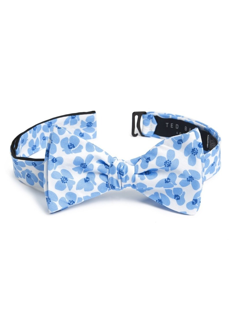 Ted Baker London Floral Print Cotton Bow Tie