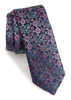 Ted Baker London Floral Silk Skinny Tie