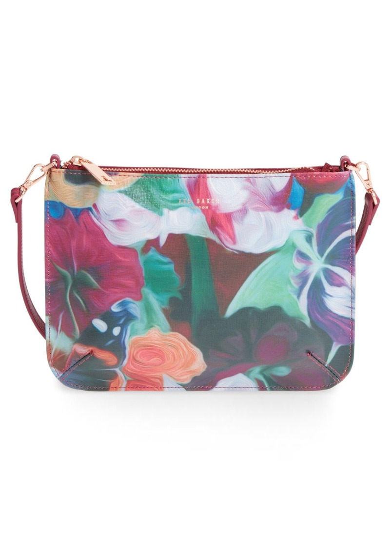 Ted Baker Ted Baker London U0026#39;Floral Swirlu0026#39; Leather Crossbody Bag | Handbags - Shop It To Me
