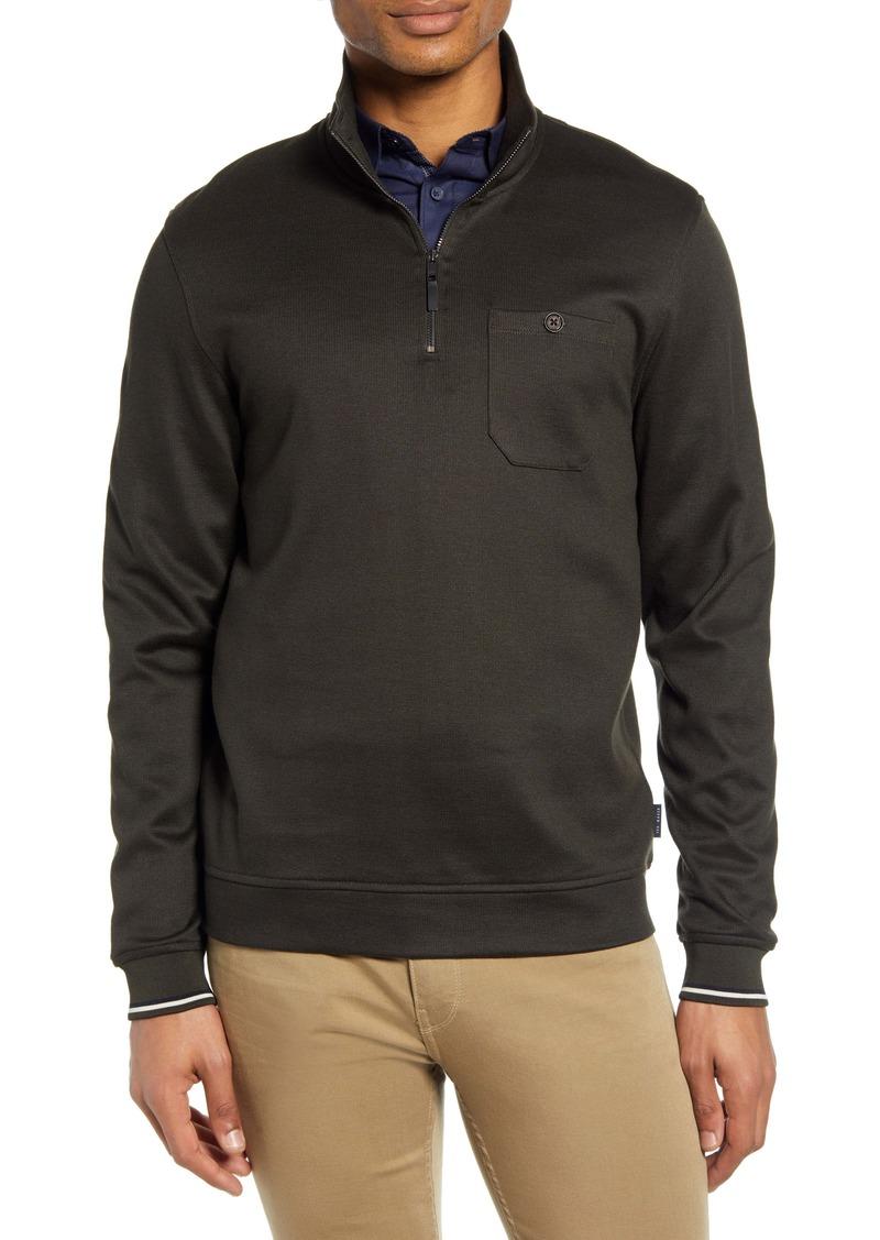 Ted Baker London Floss Quarter Zip Pullover