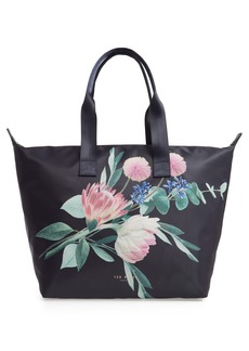 Ted Baker London Flourish Foldaway Shopper Tote