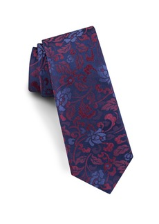 Ted Baker London Flower Leaves Silk Tie