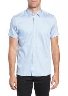 Ted Baker London Footpri Slim Fit Print Sport Shirt
