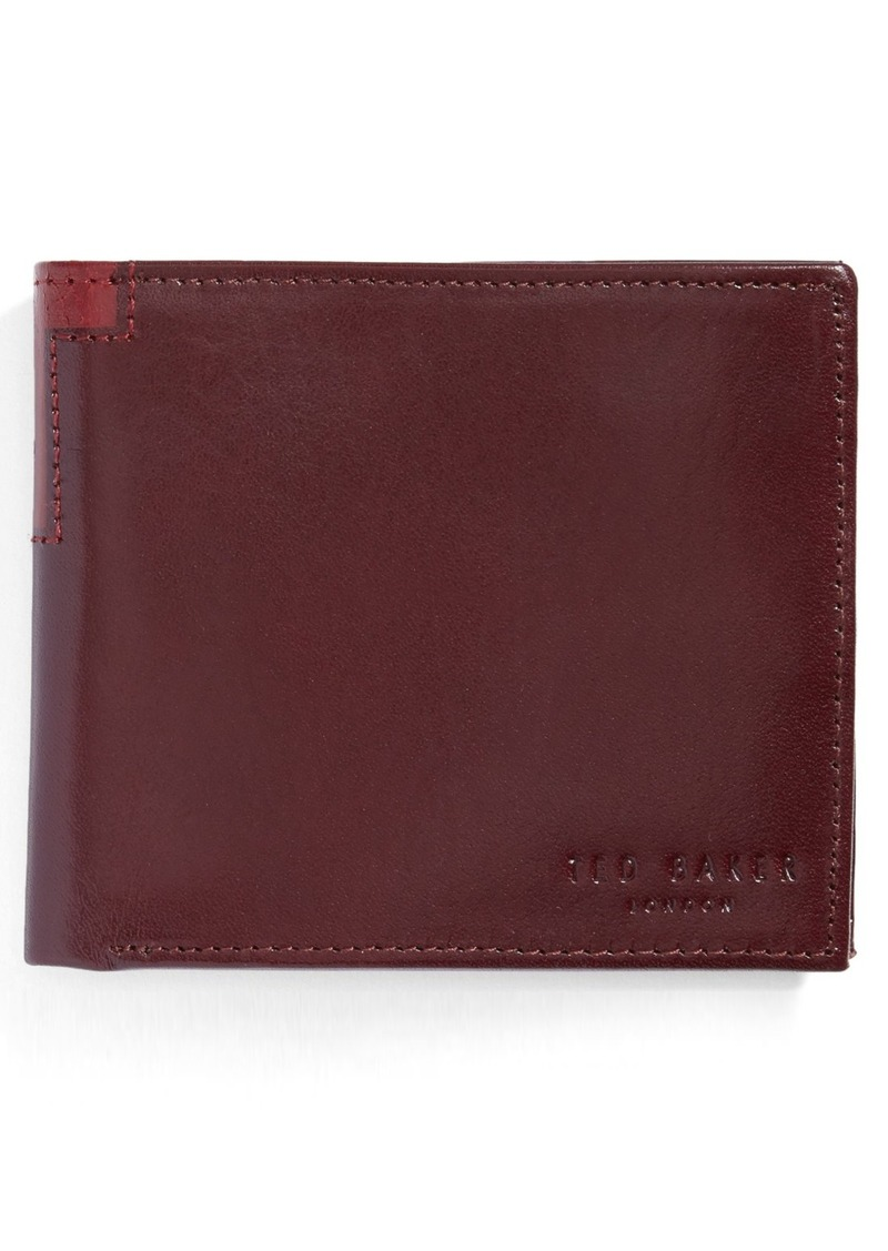 04cd5350fddaa On Sale today! Ted Baker Ted Baker London Freshing Leather Bifold Wallet