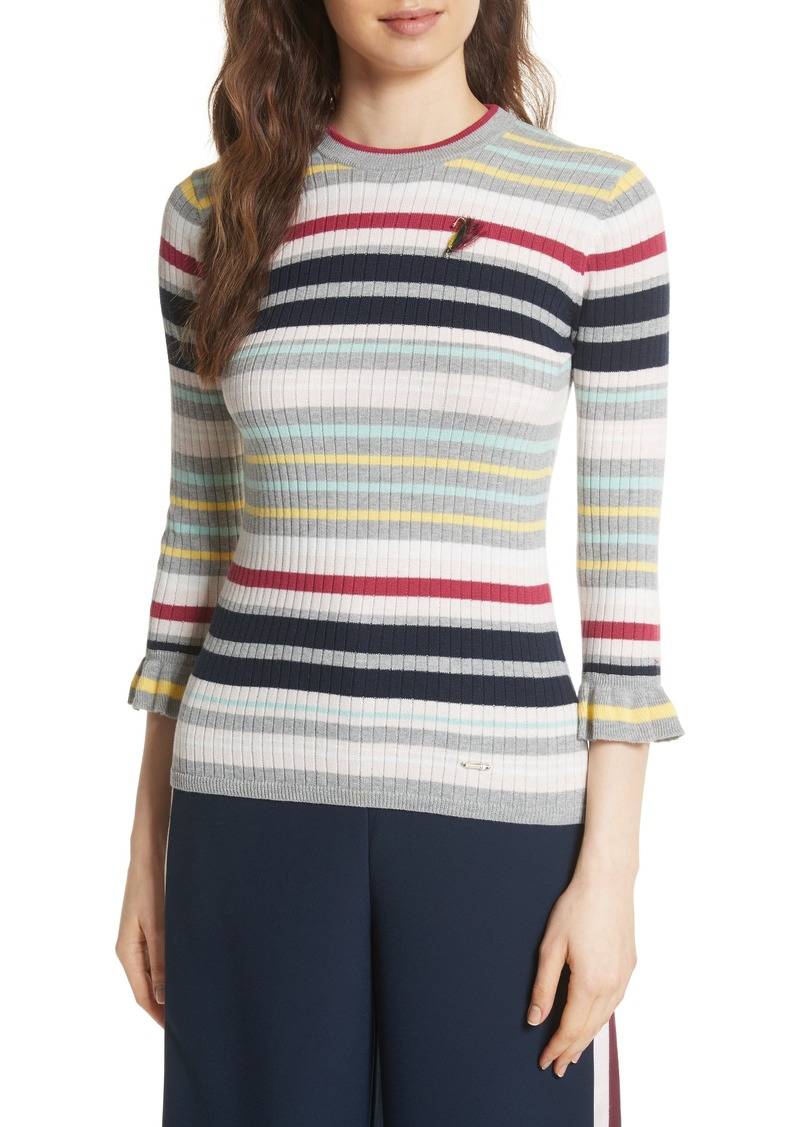 980e7cf1f3a5 SALE! Ted Baker Ted Baker London Colour by Numbers Stripe Top